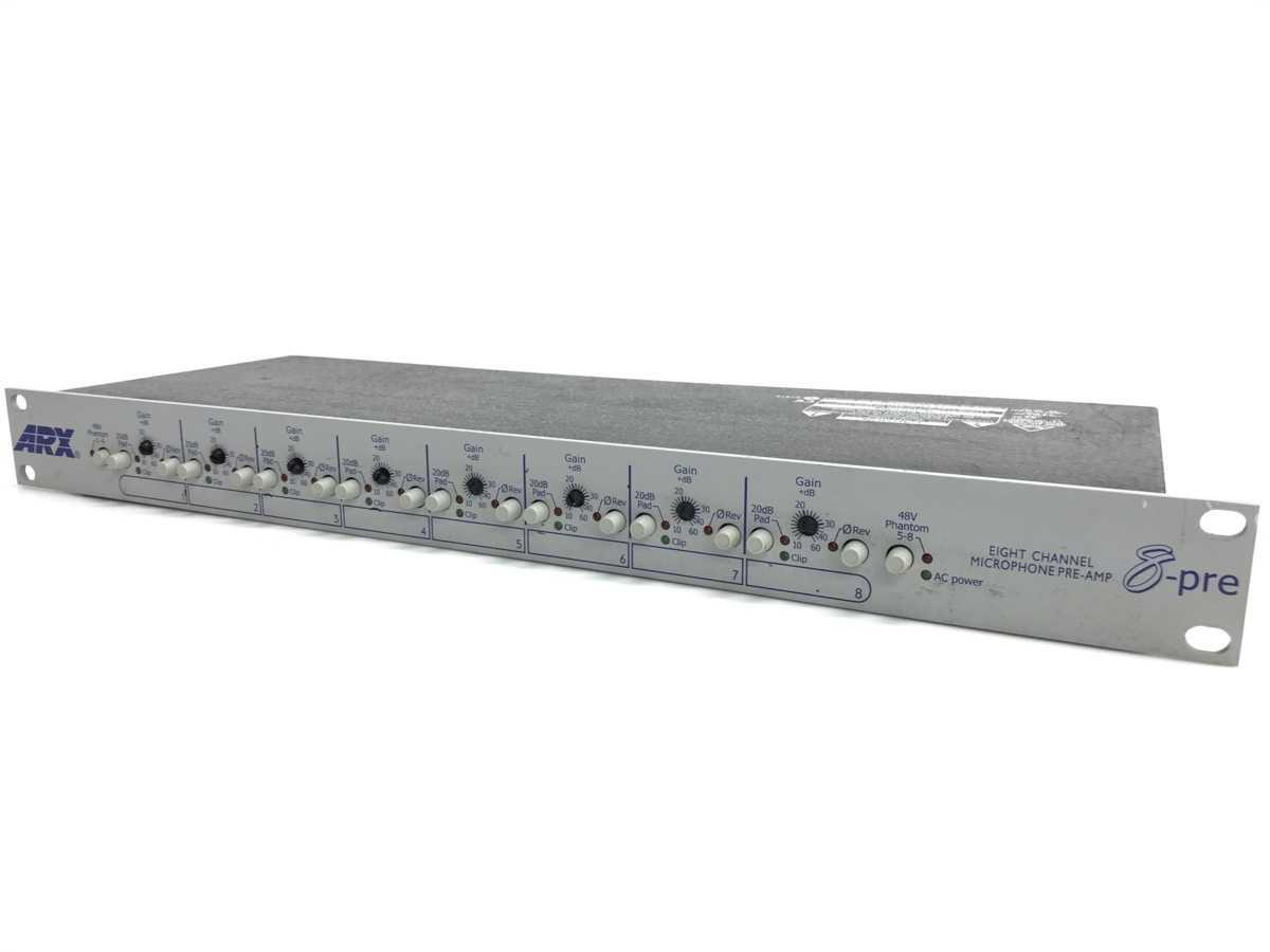 ARX 8-pre マイクプリアンプ 買取