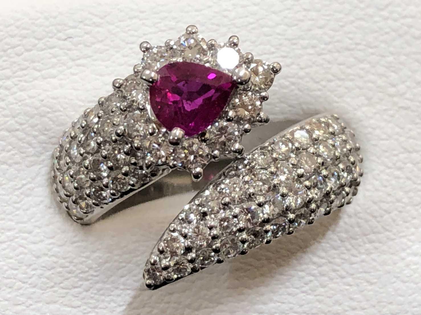 宝石買取 ルビーダイヤリング