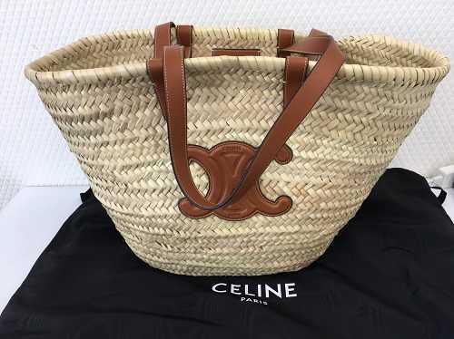 セリーヌ買取 かごバッグ トリンオフバスケット