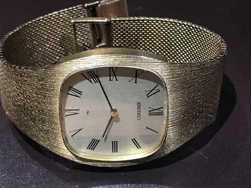 セイコー 買取 金無垢時計