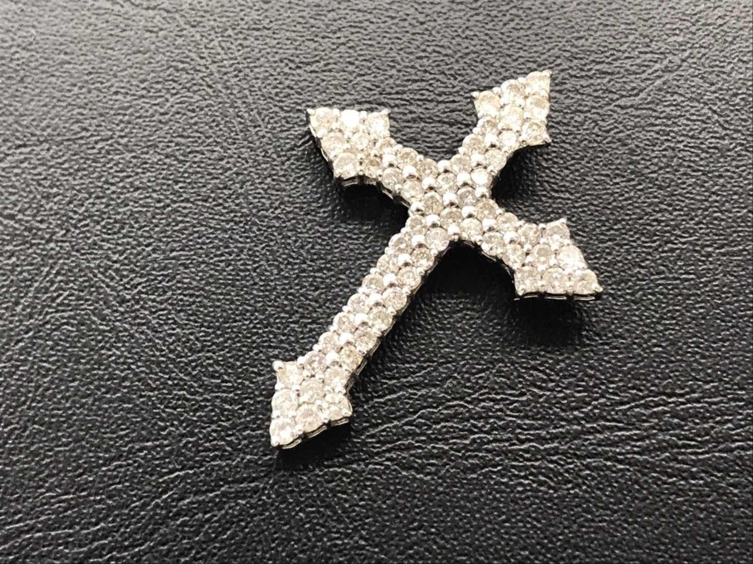 ダイヤモンド買取 クロスペンダントトップ
