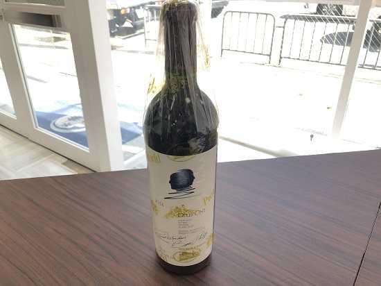 お酒買取 オーパスワン2014年ワイン