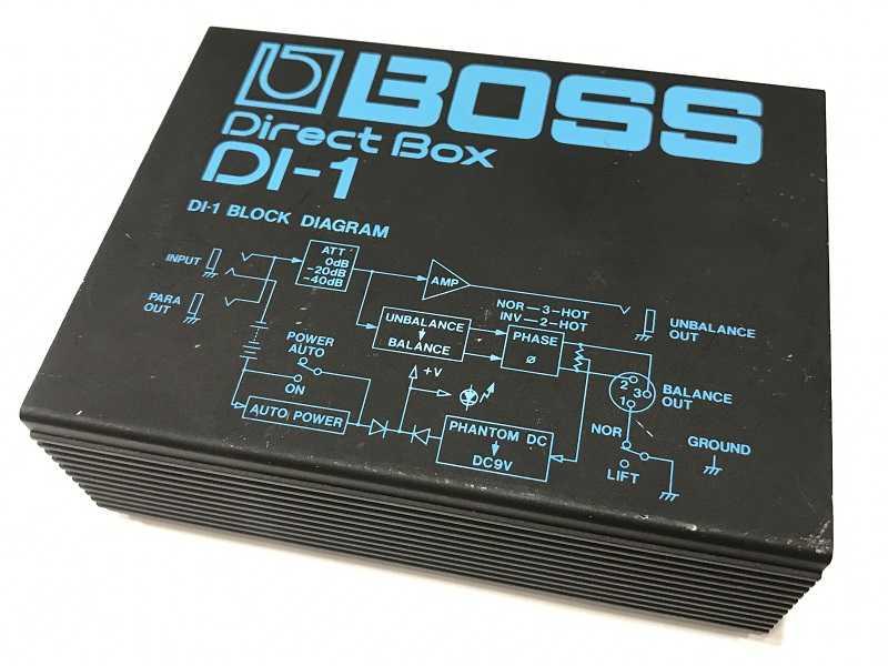 BOSS買取  DI-1 ダイレクトボックス