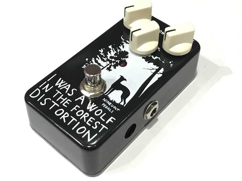 NINEVOLT PEDALS I WAS A WOLF IN THE FOREST DISTORTION エフェクター買取