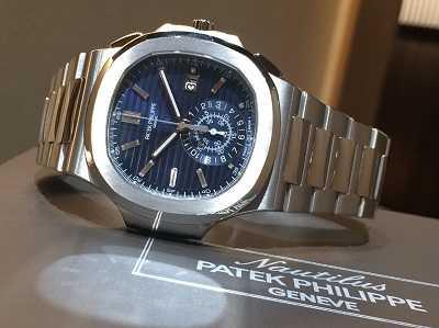 パテックフィリップ買取 ノーチラス40周年記念モデルRef.5976/1G-001