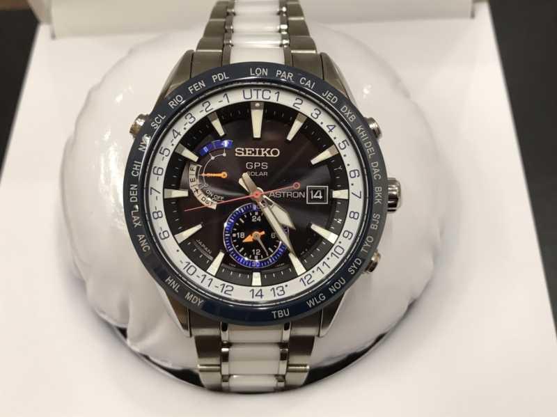 セイコー買取 アストロン 腕時計