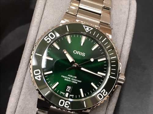 オリス買取 時計 アクイス
