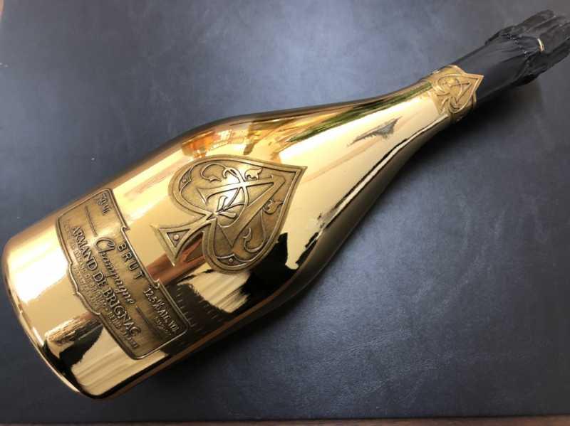 お酒買取 アルマンドゴールド シャンパン