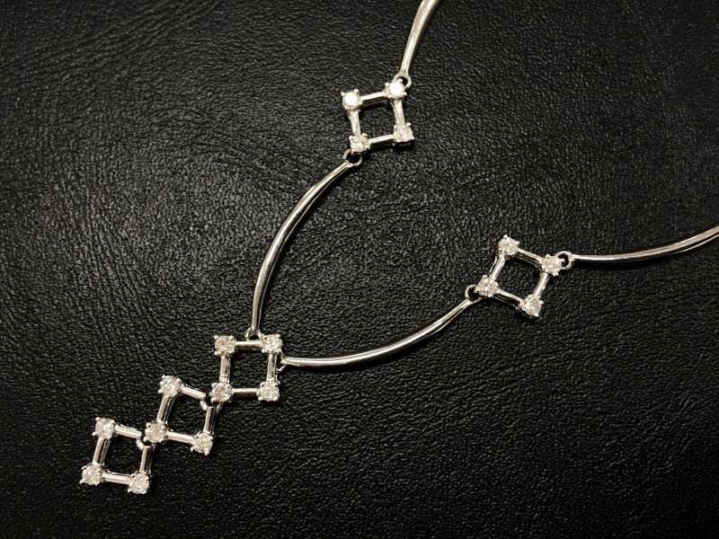 ダイヤモンド買取 プラチナ900ネックレス