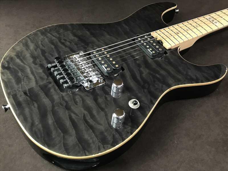 E-II買取 ST-2 QM MAPLE See Thru Black エレキギター