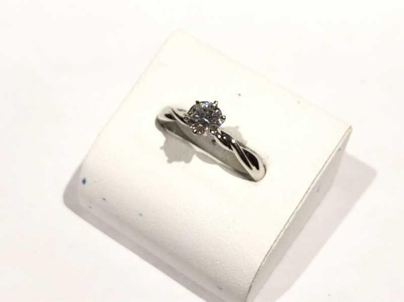 ダイヤモンド買取 プラチナリング 0.5ct