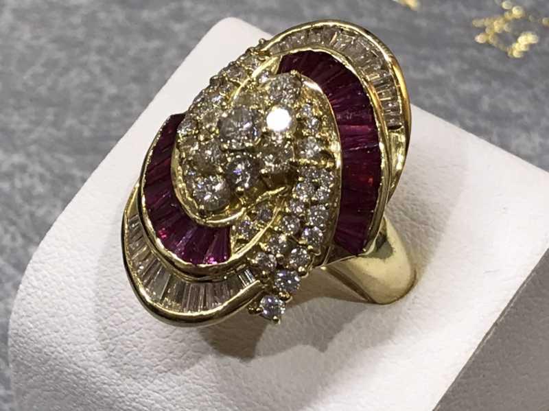宝石買取 K18ダイヤモンドリング