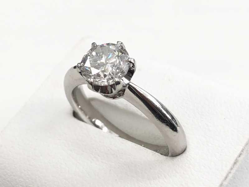 ダイヤモンド買取 プラチナ指輪