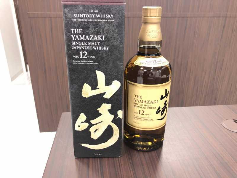 お酒買取 山崎 12年