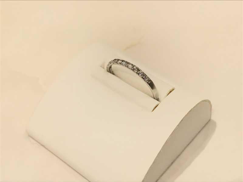 ダイヤモンド買取 メレダイヤプラチナリング
