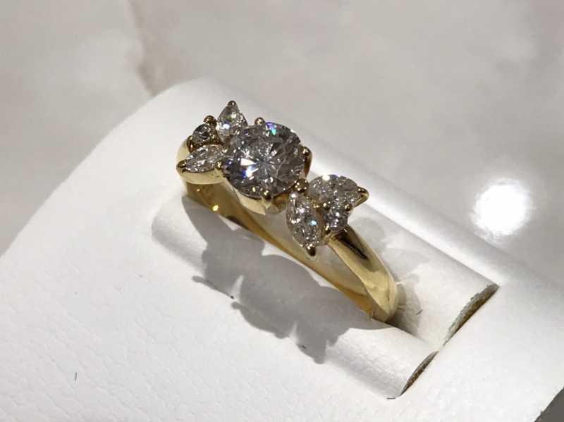 ダイヤモンド買取 K18リング