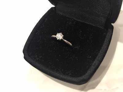 ダイヤモンド買取 プラチナエンゲージメントリング