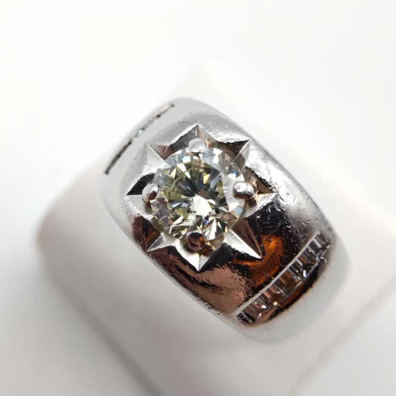 ダイヤモンド買取 プラチナリング 1.6カラット
