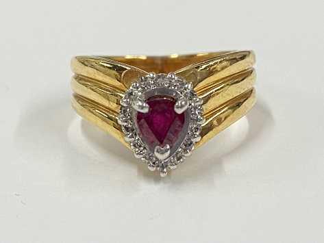 宝石買取 ダイヤ ルビー 指輪