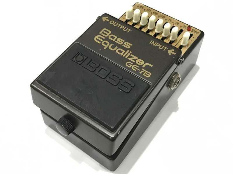 BOSS買取 GE-7B Bass Equalizer ベース用イコライザー