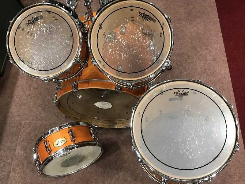 Pearl買取 VISION SST ALL MAPLE SHELL ドラム5点セット