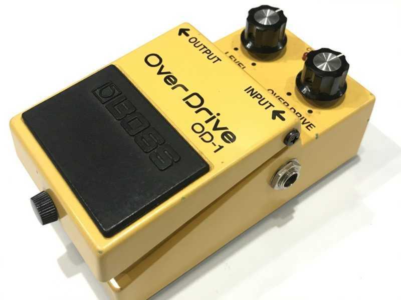 BOSS OD-1 JRC4558DD 買取