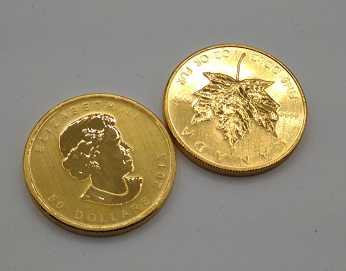 コイン 買取 メイプルリーフ金貨