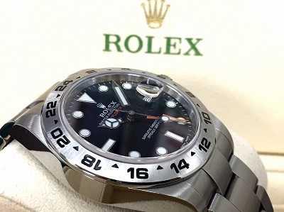 ロレックス(ROLEX)買取 エクスプローラーⅡ Ref.216570