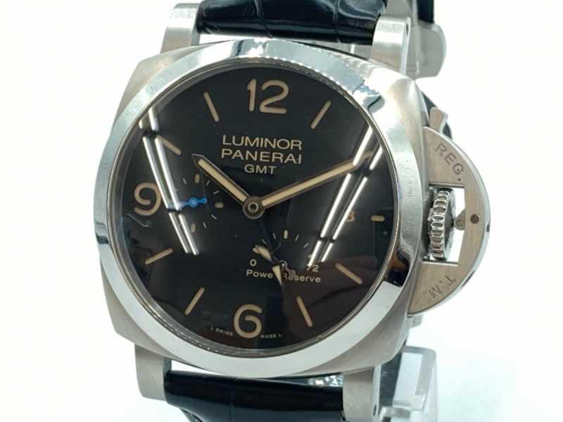 パネライ買取 ルミノール 1950 3DAYS GMT