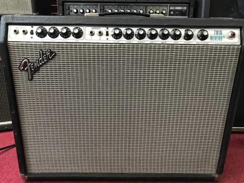 Fender Twin Reverb Silver Face 買取