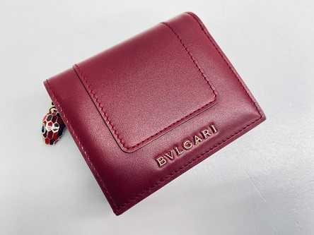 ブルガリ買取 セルペンティ 三つ折り財布
