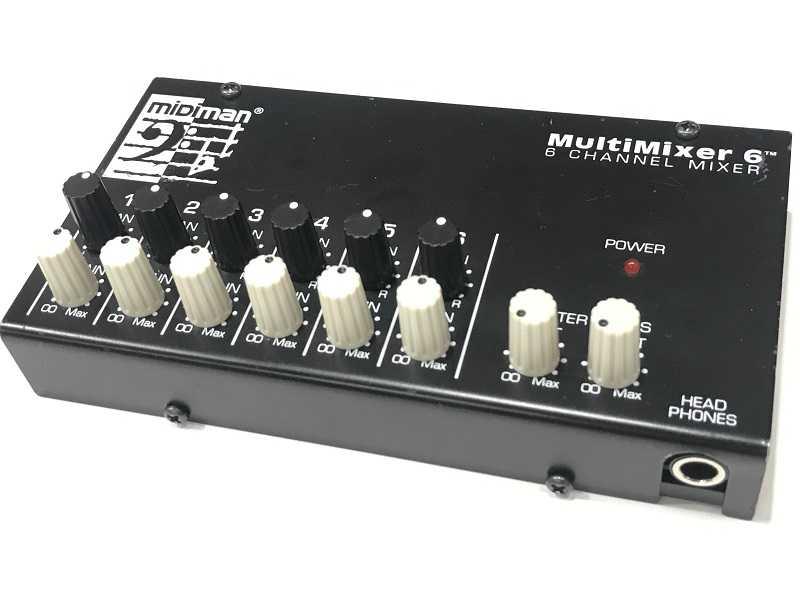Midiman Multimixer 6 ミキサー 買取