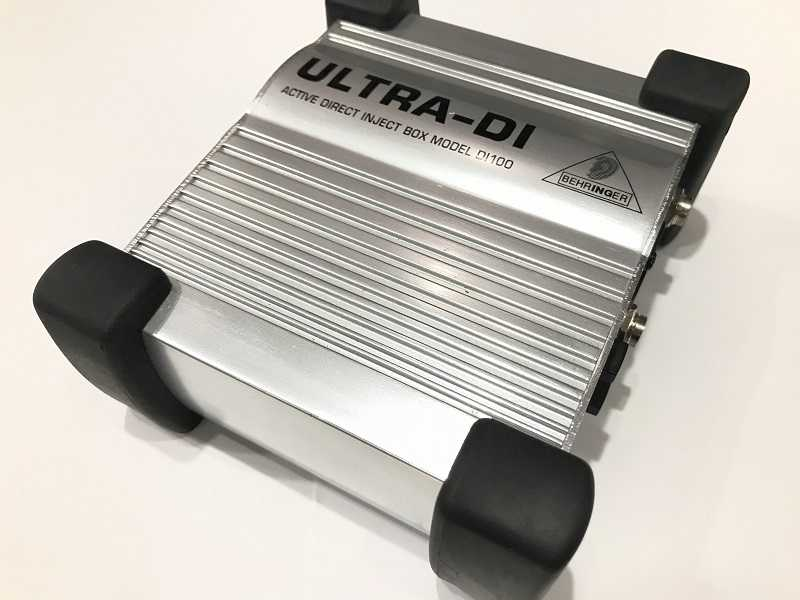 BEHRINGER買取 DI100 ULTRA-DI ダイレクトボックス