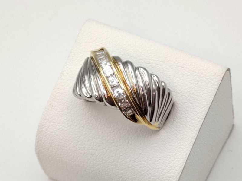 指輪買取 Pt900×K18