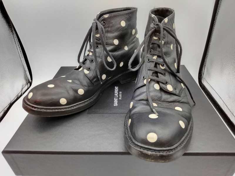 サンローラン買取 ブーツ