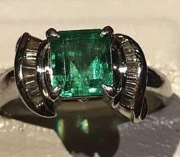 エメラルド 買取 指輪