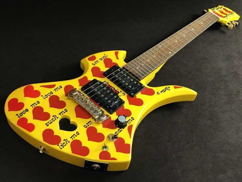 Burny Yellow Heart Jr イエローハート hide エレキギター 買取