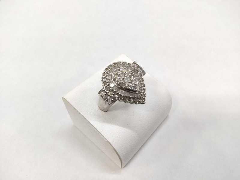 ダイヤモンド 買取 デザインリング プラチナ
