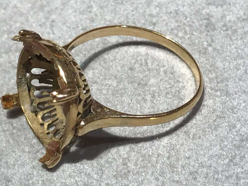 金 買取 石の取れた指輪
