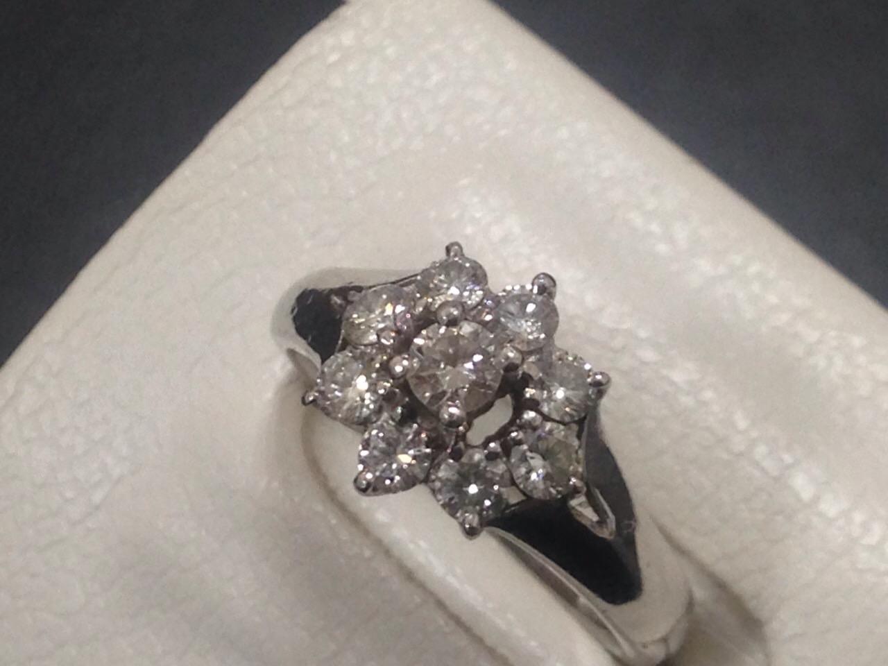 ダイヤモンドリング 1.00ct Pt900 ジュエリー 高価買取 福岡 天神