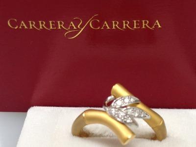 Carrera y Carrera カレライカレラ リング 750