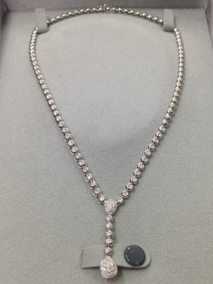 DAMIANI ダミアーニ ダイヤモンドペンダント K18WG 0.75ct