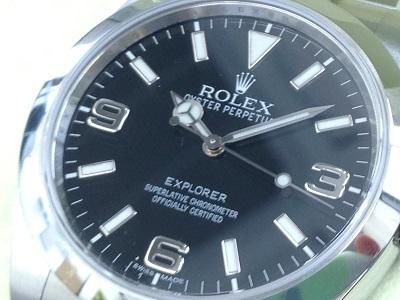 ロレックス買取 214270 エクスプローラー1買取 時計を高く売るならMARUKA
