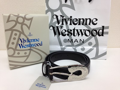 VivienneWestwood ヴィヴィアンウエストウッド 革ベルト ブラウン 未使用