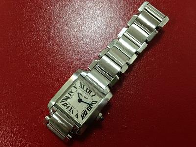 Cartier カルティエ タンクフランセーズSM W51008Q3 時計 レディース