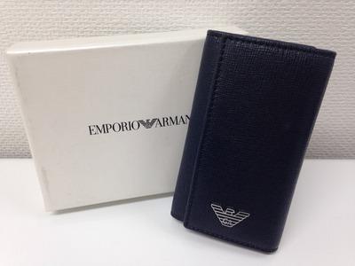 EMPORIO ARMANI エンポリオアルマーニ 6連 キーケース 小物 東京