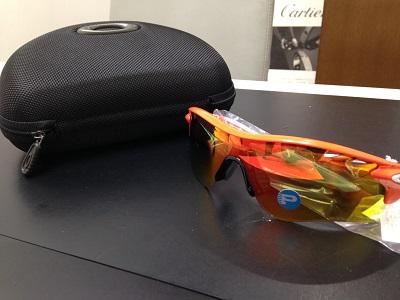 Oakley オークリー レーダーロックパス 9206-08 偏光レンズ サングラス アスリート 未使用 高価買取 七条店