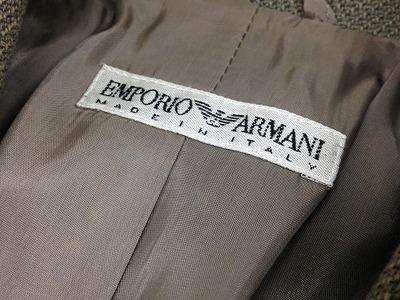 Emporio Armani エンポリオアルマーニ フォーマル レディーススーツ ウール モスグリーン #40