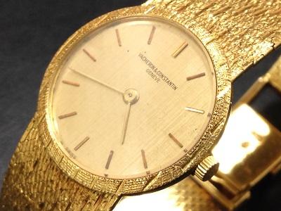 VACHERON CONSTANTIN ヴァシュロンコンスタンタン クラシックウォッチ アンティーク 750YG イエローゴールド 金無垢 手巻き 腕時計 高価買取 四条店