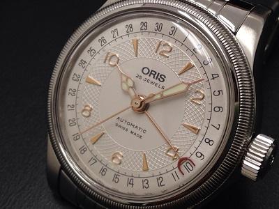 ORIS オリス アヴィエイション ビッククラウン SS 腕時計 中古 美品